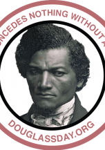 Douglass Portrait Sticker