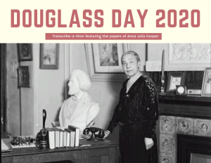 Douglass Day 2020 postcard image